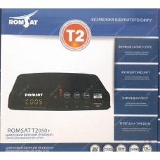 Эфирный цифровой ресивер Romsat T2050+