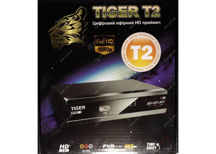 Эфирный цифровой ресивер Tiger T2