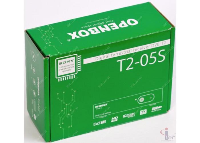 Эфирный цифровой ресивер Openbox T2-05S HD DVB-Т2