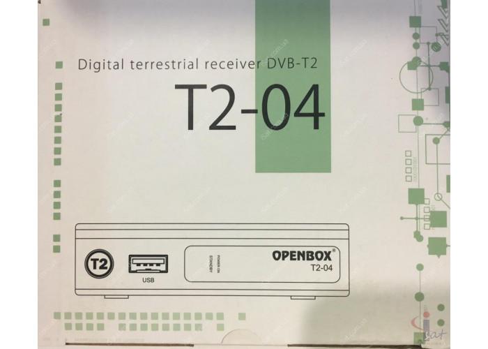Эфирный цифровой ресивер Openbox T2-04