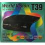 Эфирный цифровой ресивер World Vision T39 DVB-T2