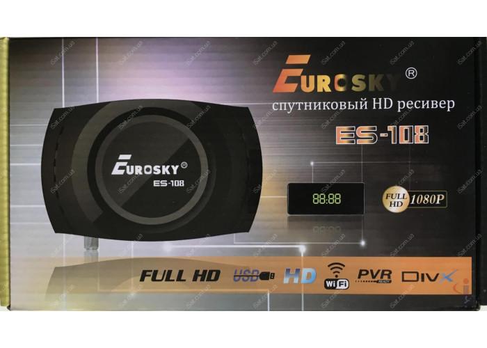Спутниковый ресивер Eurosky ES-108 HD