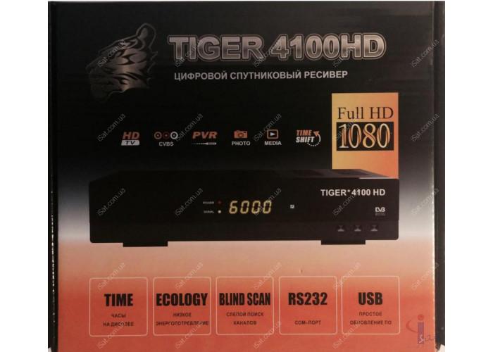 Спутниковый ресивер Tiger 4100 HD