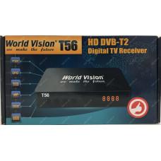 Эфирный цифровой ресивер World Vision T56 DVB-Т2