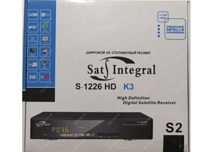 Спутниковый ресивер Sat-Integral S-1226 HD K3