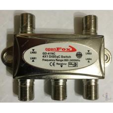 Коммутатор DiSEqC 4x1 openFox GD-41NC