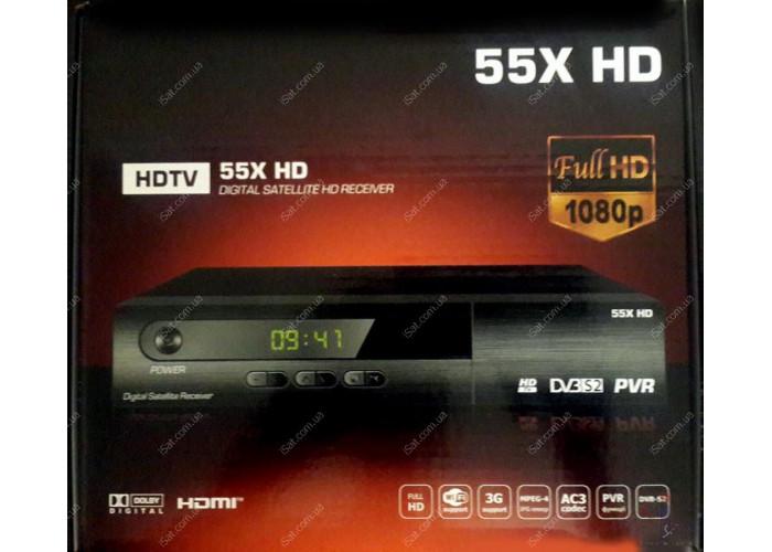 Спутниковый ресивер 55X HD