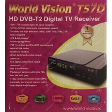 Эфирный цифровой ресивер World Vision T57D DVB-Т2