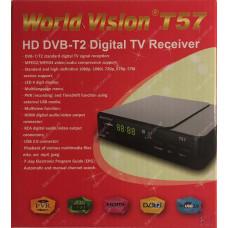 Эфирный цифровой ресивер World Vision T57 DVB-Т2