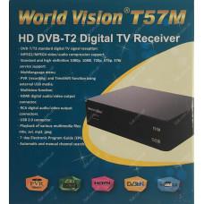 Эфирный цифровой ресивер World Vision T57M DVB-Т2