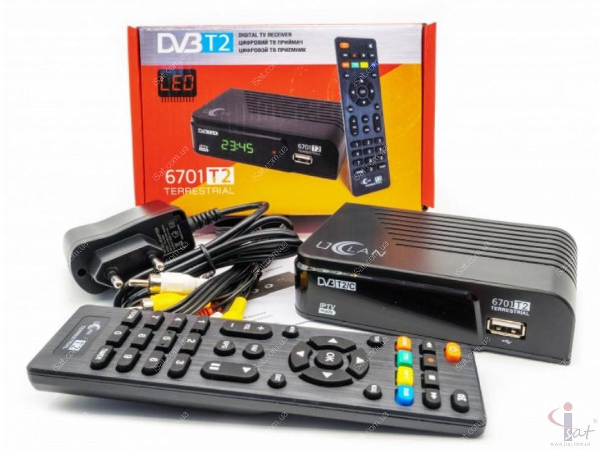 Эфирный цифровой ресивер uClan T2 HD Internet Plus