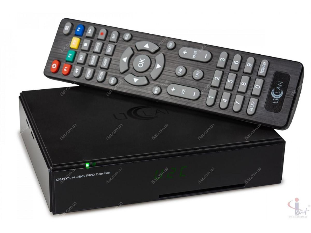 uClan Denys Pro Combo HD с RF Модулятором