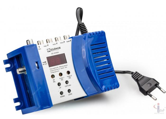 Телевизионный модулятор GC-AV05A Double A/V Clonik