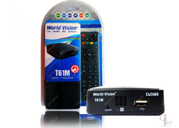 World Vision T61M Т2 Ресивер HD