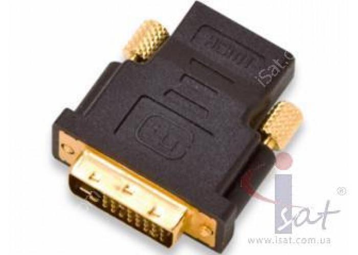 HDMI гнездо-DVI штекер