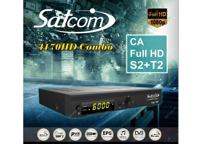 Satcom 4170 HD Combo