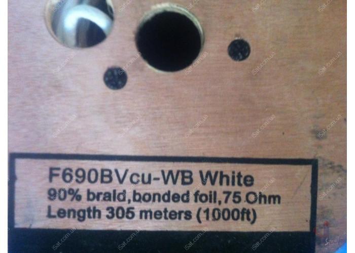 Кабель FinMark F690BV Cu-WB (305м) 75 Ом белый