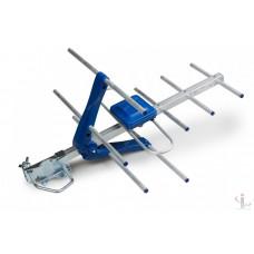 Антенна эфирная Eurosky ES-003 Blue Наружная с усилителем 5v