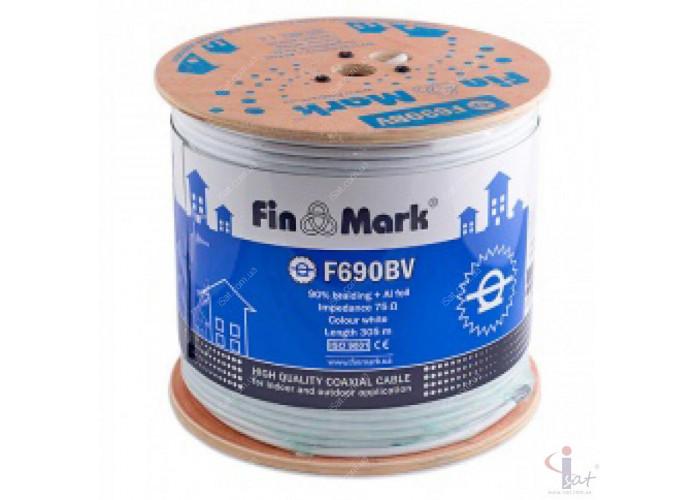 Кабель FinMark F690BV Бухта 305м (Белый)