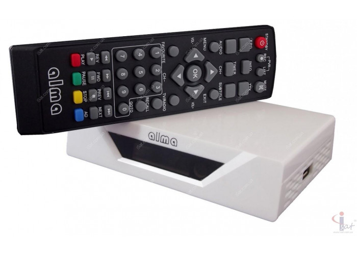 Т2 ресивер Alma 2771 THD DVB-T2 White SCART