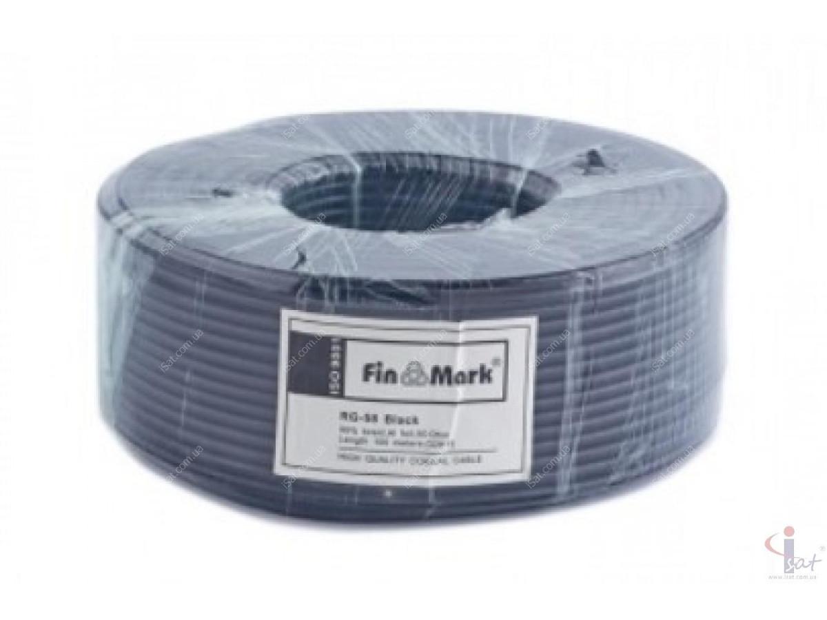 FinMark RG-58TC90 Сu black