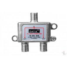 SAT Split 2 way Datix 5 - 2500МГц с проходом питания
