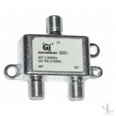 Диплексер TV/SAT GI SD01