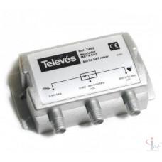 TV/SAT Televes - 7452