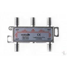 SAT Split 4 way Openfox 5 - 2250МГц с проходом питания