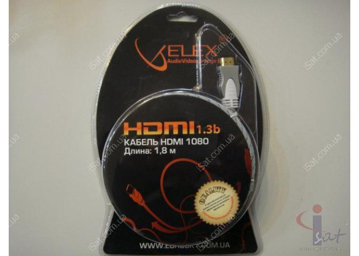 HDMI кабель 1.8 м в блистере
