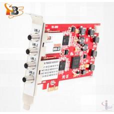 TBS6908 Professional DVB-S2 Quad Tuner PCIe Card