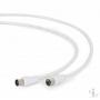 Антенный кабель-удлинитель, 75 Ом, 1.8 метра