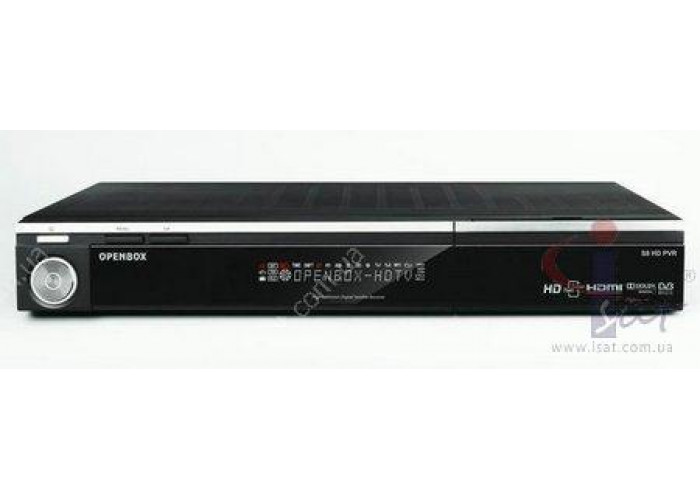 OPENBOX S8 HD PVR Black 2000Gb HDD