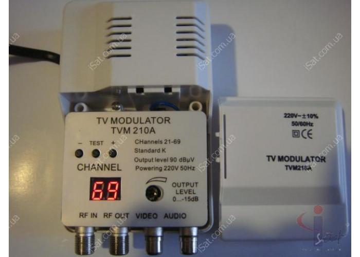 Модулятор телевизионный ДМВ TVM-210A