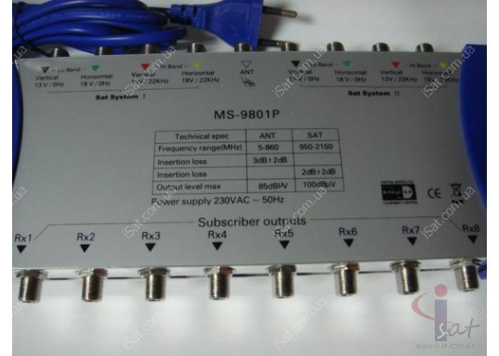 Мультисвич Gecen MS-9801P
