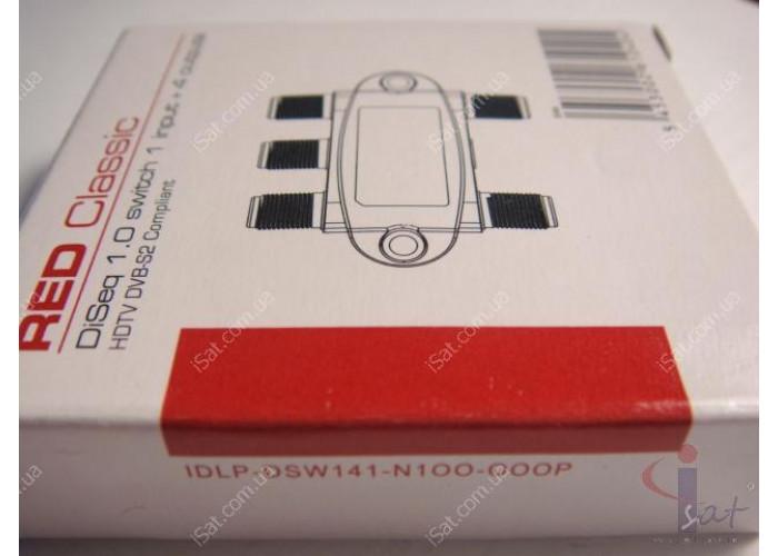Коммутатор DiSEqC 4x1 Inverto IDLP-DSW141-N1OO-OOOP