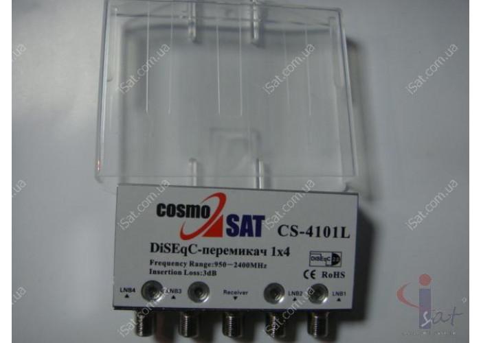 Коммутатор DiSEqC 4x1 CS-4101LED