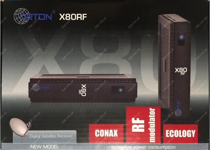 Спутниковый ресивер Orton X80RF