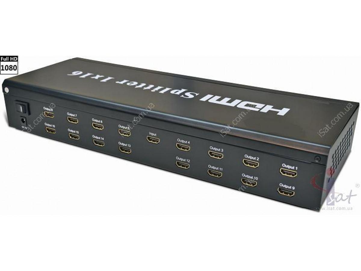 HDMI Splitter Amplifier 1x16