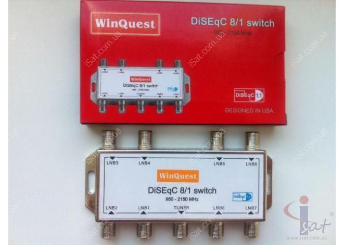 Коммутатор DiSEqC 8x1 WinQuest