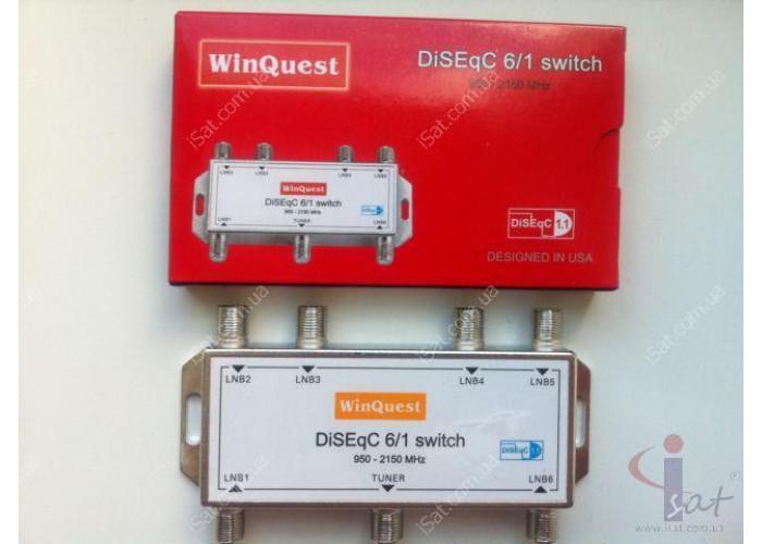 Коммутатор DiSEqC 6x1 WinQuest