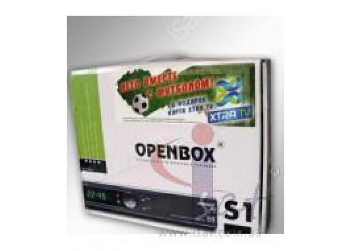 Openbox S1 PVR + Карта XtraTV