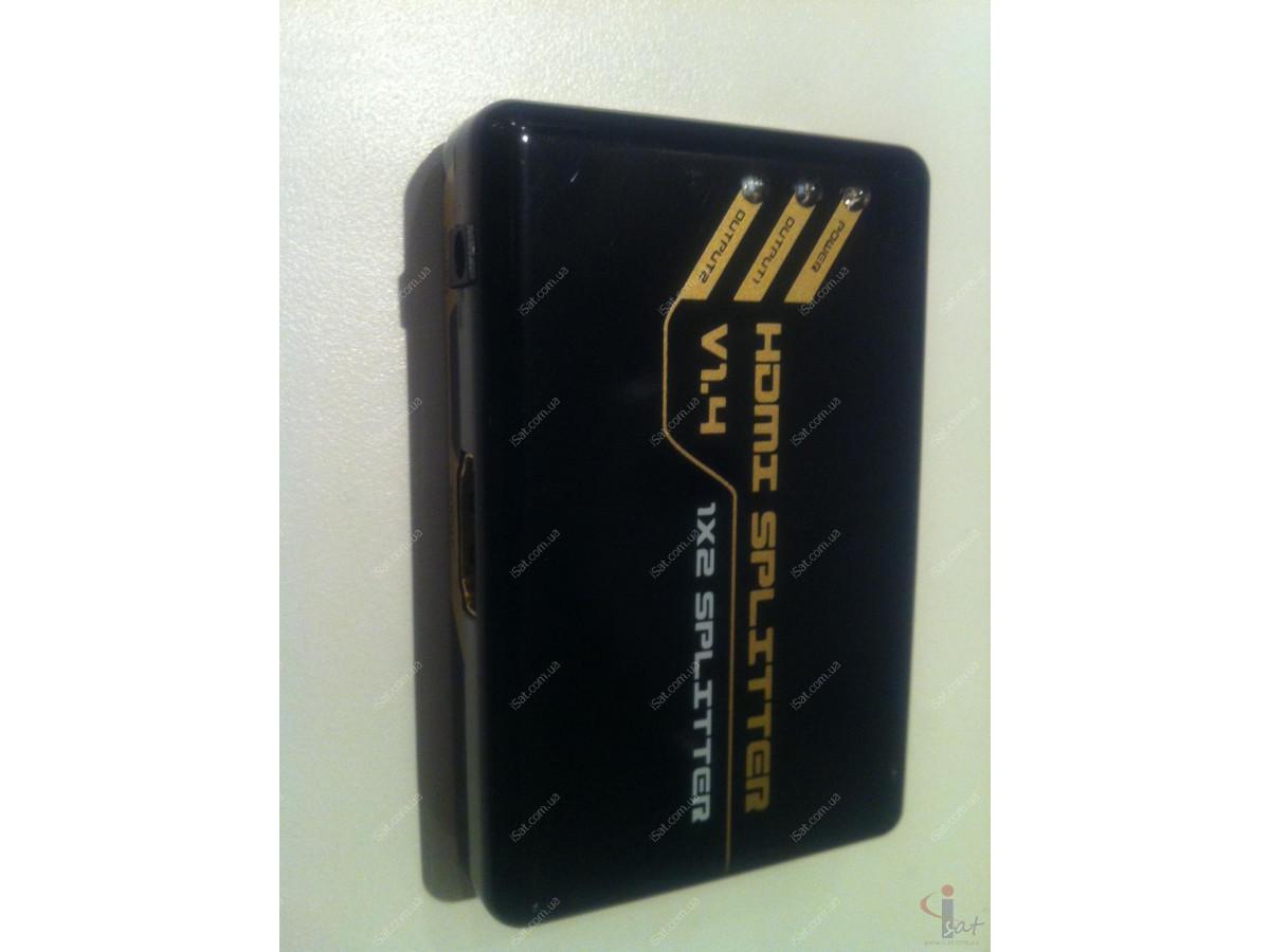 HDMI Splitter Amplifier1x2 Mini v1.4 Full 3D