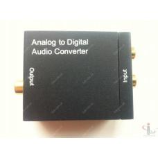 Преобразователь звука RCA аналоговый в Optic Coaxial