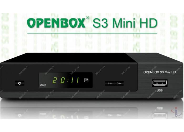 Спутниковый ресивер Openbox S3 HD PVR