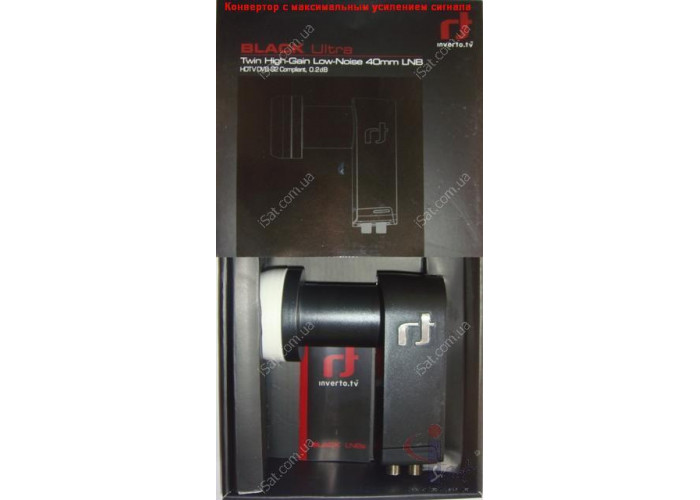 Конвертор Twin INVERTO IDLB-TWINL40-ULTRA-OPP BLACK