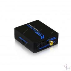 Преобразователь звука Optical SPDIF/Coaxial в RCA L/R и 3.5mm Jack