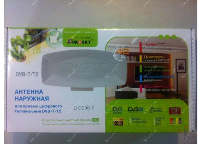 Антенна эфирная DVB-T2 EUROSKY наружная