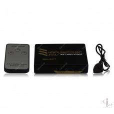 HDMI Switch 3 in 1 V1.4 Свичер HDMI сигнала 3 входов 1 выход 4Kx2K