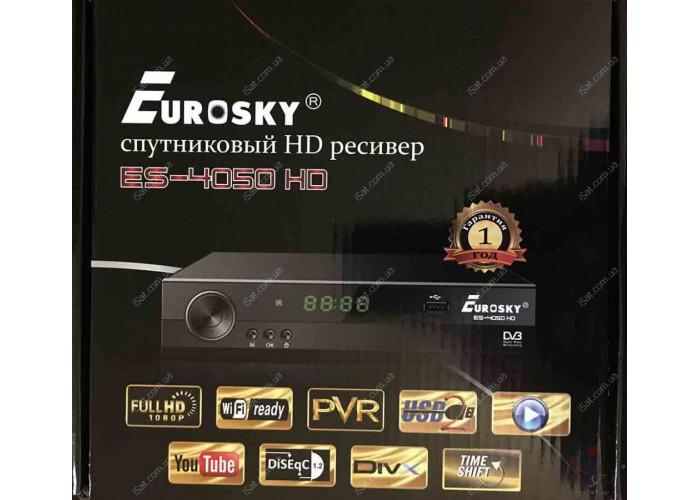 Спутниковый ресивер Eurosky ES 4050HD